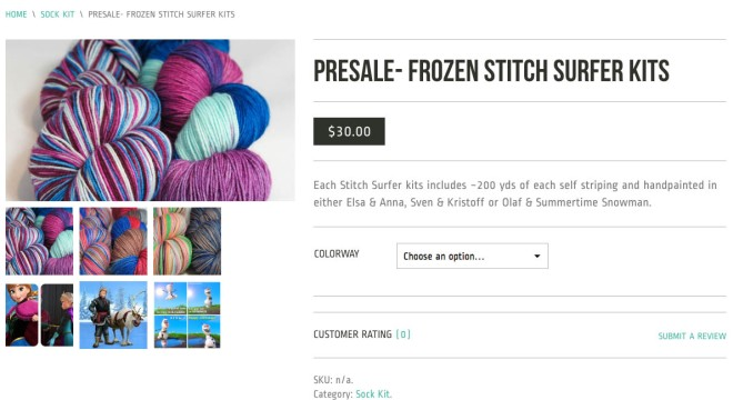 Frozen Stitch Surfer Kits