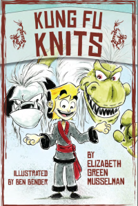 Kung Fu Knits front cover